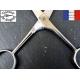 Ciseaux à moustache artisanal droit 12.5cm inox