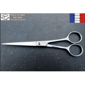 Ciseaux de Nogent Coiffeur 17cm Inox Micro Denté