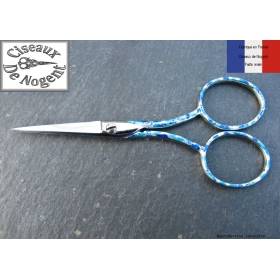 Ciseaux à broder de Nogent bleu azur