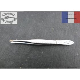 Pince à épiler de Nogent 9cm tete fine 2.5mm